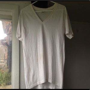🔴White Tee T-shirt Top Perfect for DIY Tie Dye